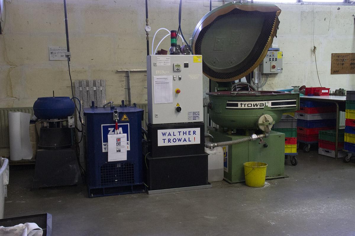 Schott CNC Maschine Walther Trowal TD-75 + CD 200
